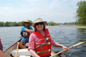 Join us on the Fox River in our BIG canoe.