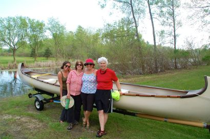 Friends and a big canoe trip.